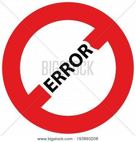 Illustration Warning Error