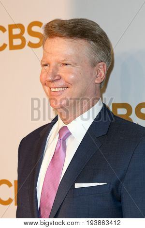 Former New York Giants quarterback Phil Simms attends the 2015 CBS Upfront at The Tent at Lincoln Center on May 13, 2015 in New York City.
