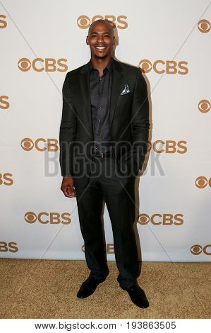 Actor Mehcad Brooks attends the 2015 CBS Upfront at The Tent at Lincoln Center on May 13, 2015 in New York City.