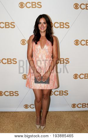 Actress Angelique Cabral attends the 2015 CBS Upfront at The Tent at Lincoln Center on May 13, 2015 in New York City.