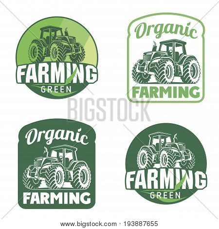 Organic Fresh Product. Vector logo.Farm Fresh badge illustration. Organic product sticker.
