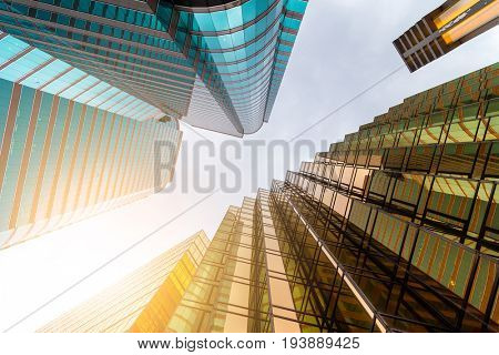 Office building from low angle