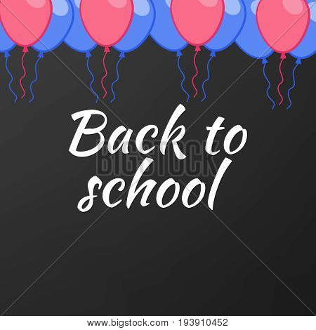 Back To School Background School Board Background