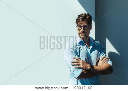Portrait Of A Young Entrepreneur.
