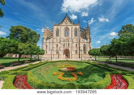 Kutna Hora St. Barbara's Church Czech Republic