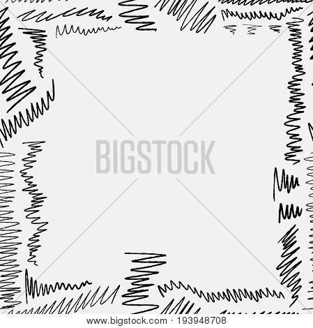 Scribbled Border