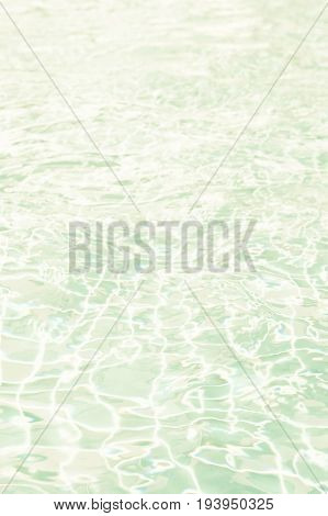 Abstract water Wave Pool Dimension vintage color tone background