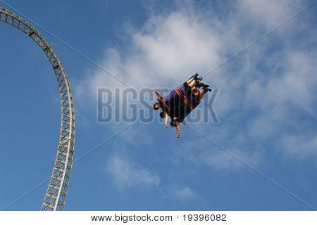 Entertainments. Flight on rubber