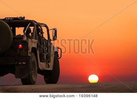 Military patrol