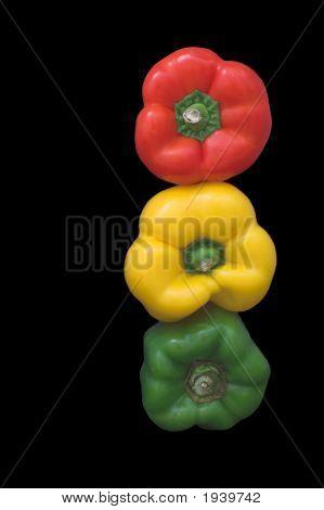 Stoplight Bell Peppers