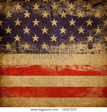 Grunge american patriotic theme background.