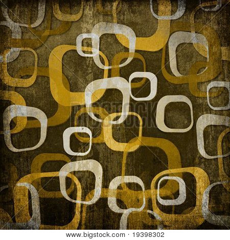 Retro ornament background, brown gamut.
