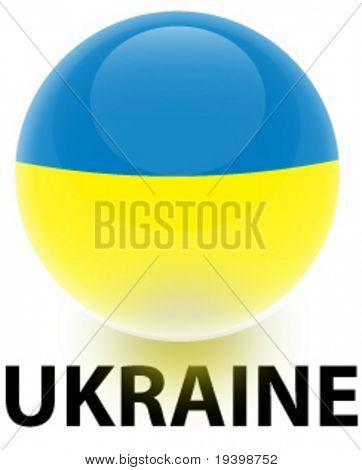 Orb Ukraine Flag