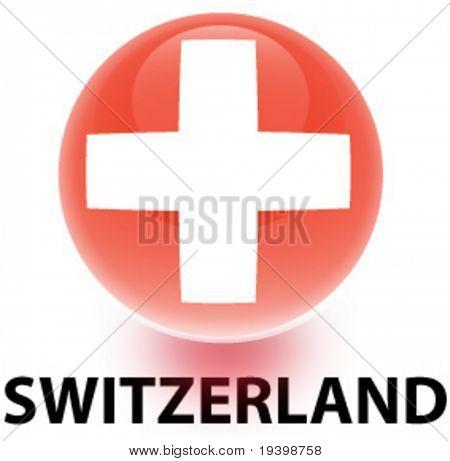 Orb Switzerland Flag