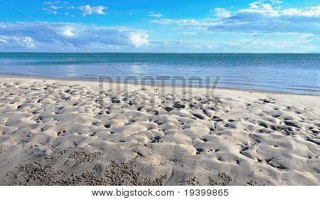 Frazer Island Beach,Sea and Cloud.