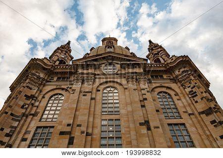 Dresden - Frauenkirche, Germany