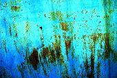 rusty metal surface poster