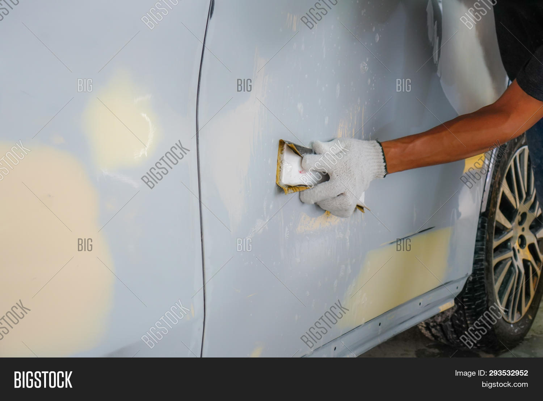 Repairing Car Body By Image & Photo (Free Trial) | Bigstock