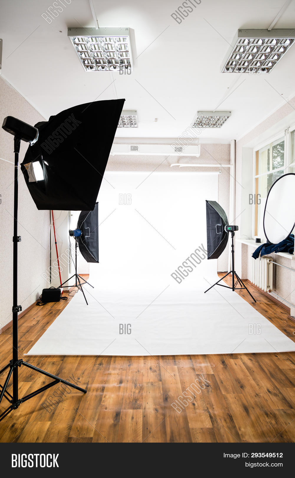 Empty Photo Studio Image Photo Free Trial Bigstock