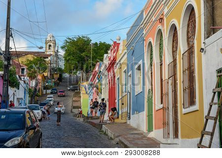 Colorful Brazilian Colonial Houses
