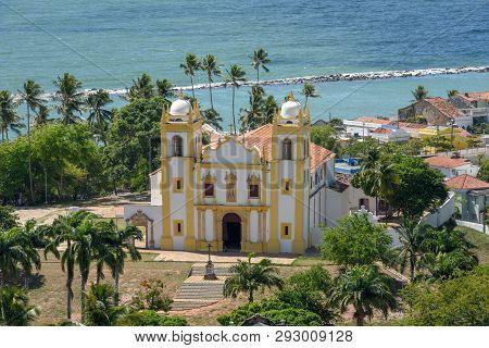 Olinda, Brazil - 27 January 2019: The Carmo Church At Olinda Is One Of The Oldest Catholic Churches