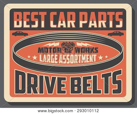 Car Spare Parts Shop Vector & Photo (Free Trial) | Bigstock