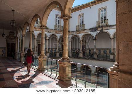 Coimbra University In Portugal