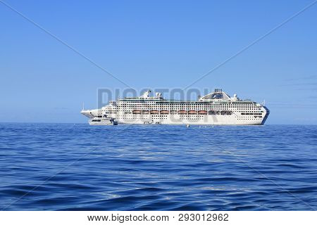 Lahaina, Maui, Hawaii - September 18 : Dawn Princess, Ship Of Princes Cruises Line On September 18,