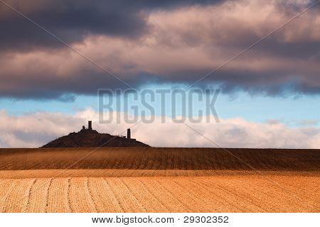 Ruins of Hazmburk Castle