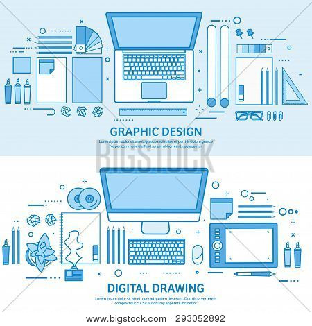 Graphic Web Design. Drawing And Painting. User Interface Ui. Landing Page Creation And Development.