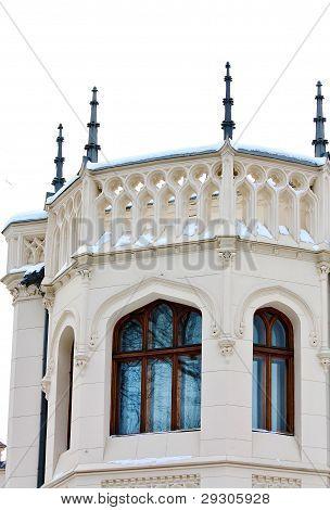Haus gebaut im eklektischen Stil (Detail) von The Pilsner Shekhtel