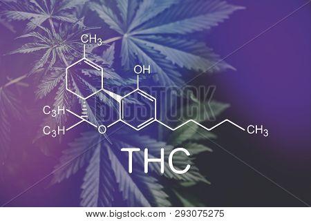 Thc Formula, Tetrahydrocannabinol . Medical Marijuana, Despancery Business. Cannabinoids And Health,