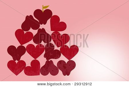 applhearts red