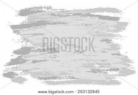 Gray Brushstrokes Banner. Vector Illustration For Posters, Brochures, Sites, Web, Cards, Interior De