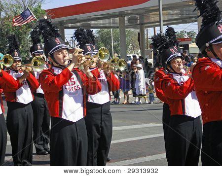Roswell High School band