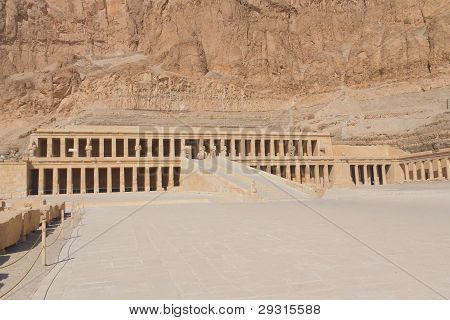 The Temple Of Queen Hatshepsut at Luxor (Egypt )