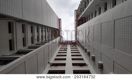 View Of Singapore Residential Building Also Known As Hdb