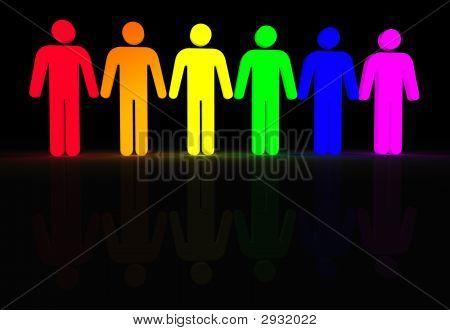 Gay Men Glow