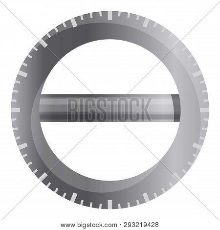 360 Grade Measurement Ruler Icon. Cartoon Of 360 Grade Measurement Ruler Vector Icon For Web Design