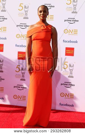 LOS ANGELES - MAR 30:  Tika Sumpter at the 50th NAACP Image Awards - Arrivals at the Dolby Theater on March 30, 2019 in Los Angeles, CA