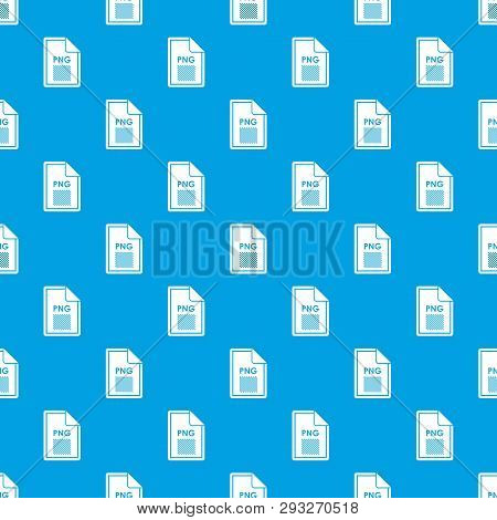 File PNG pattern repeat seamless in blue color for any design. geometric illustration poster