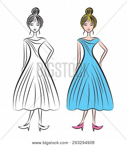 Young Woman Different Vector Photo Free Trial Bigstock
