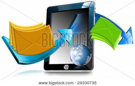 Tablet Computer e-Mail