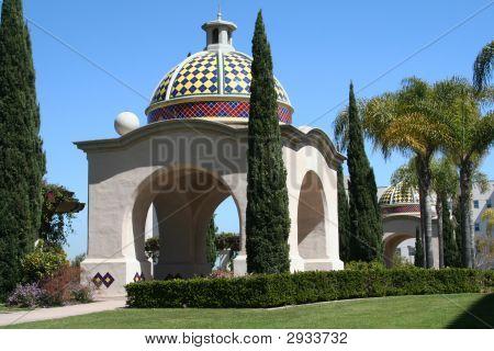 Balboa Park Domed Portico