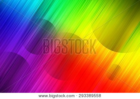 Minimal Geometric Background. Dynamic Shapes Composition Vector Color Background
