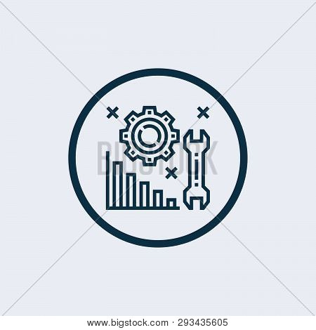 Save Download Preview Solution Icon Isolated On White Background. Solution Icon Simple Sign. Solutio