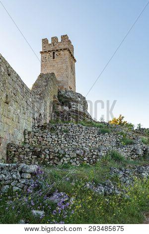 View Of Numao Castle. Council Of Vila Nova De Foz Coa. Portugal. Douro Region.