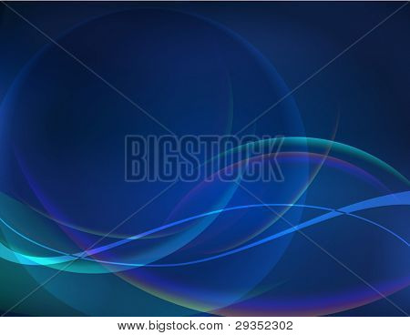 energy flow vector illustration