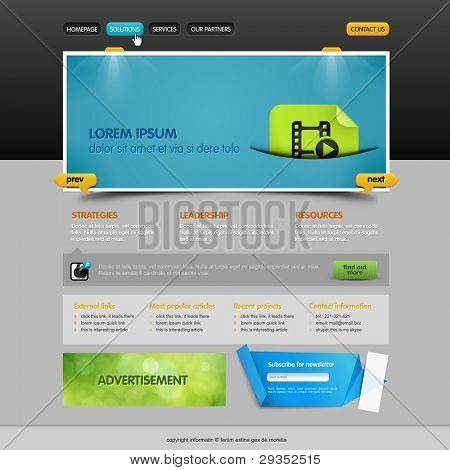 brilliant slider situated on the web page