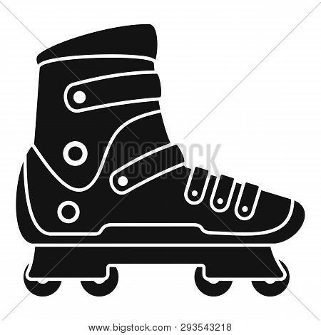 Extreme Sport Inline Skates Icon. Simple Illustration Of Extreme Sport Inline Skates Vector Icon For
